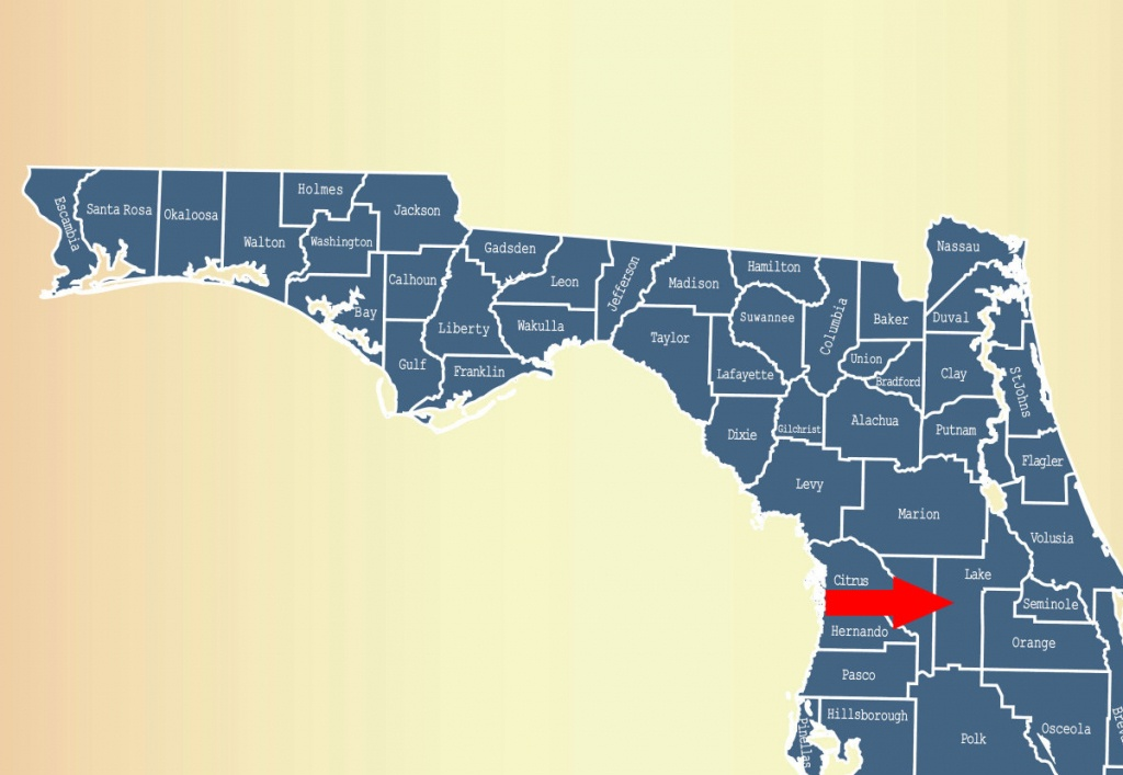 Equine Strangles In Lake County, Florida - Business Solutions For - Map Of Lake County Florida