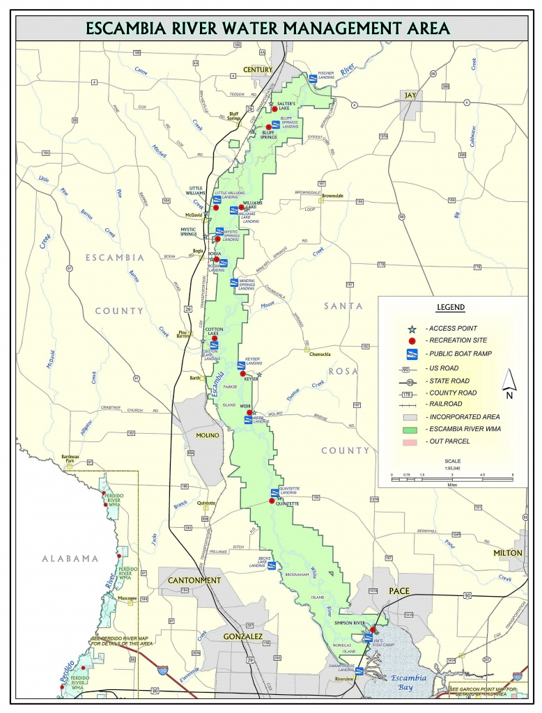 Escambia River   Northwest Florida Water Management District - Northwest Florida Water Management District Map