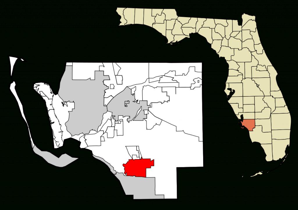 Estero, Florida - Wikipedia - Estero Beach Florida Map