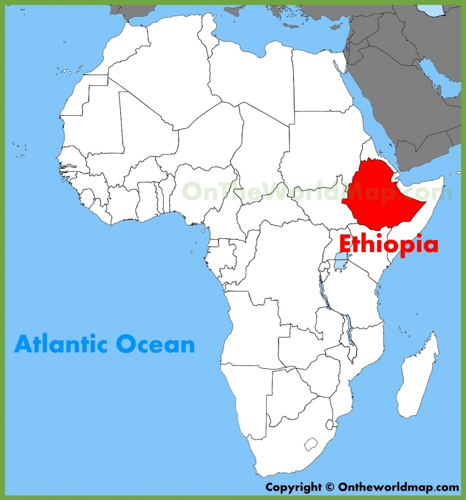 Ethiopia Maps | Maps Of Ethiopia - Printable Map Of Ethiopia