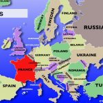 Europe Countries Blank Map | Sitedesignco   Blank Europe Map Quiz Printable