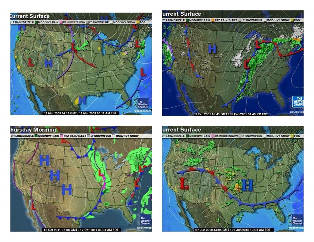 Example Sample Weather Maps Printable | Weather | Weather, Outdoor - Printable Weather Maps For Students