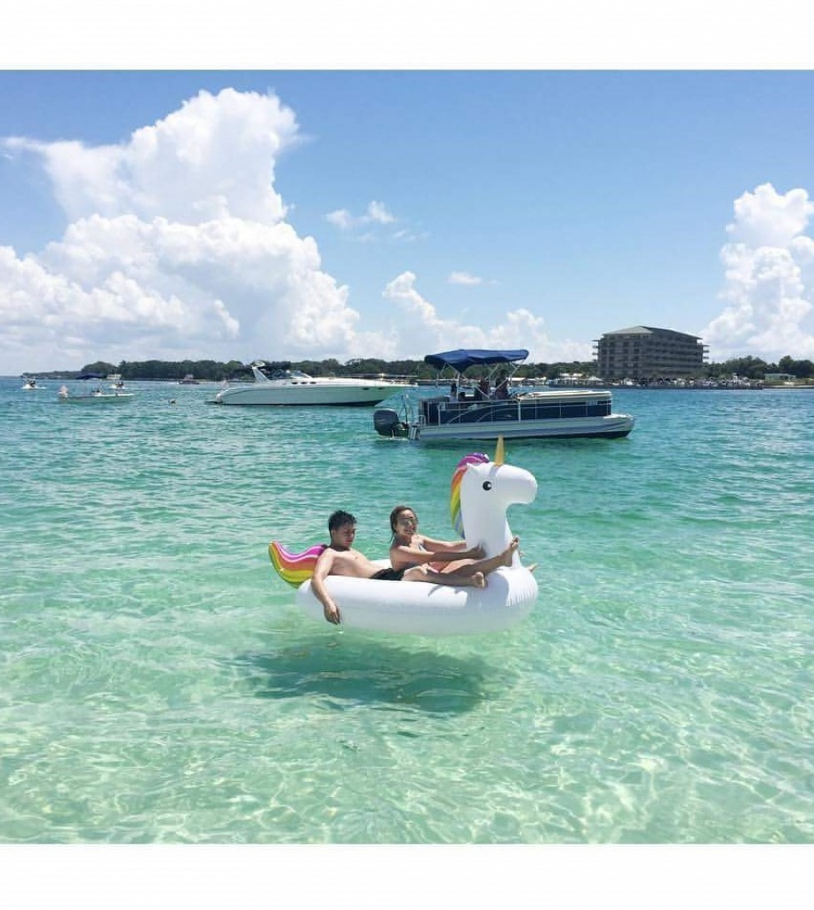 Explore Crab Island - Dockside Watersports - Crab Island In Destin Florida Map