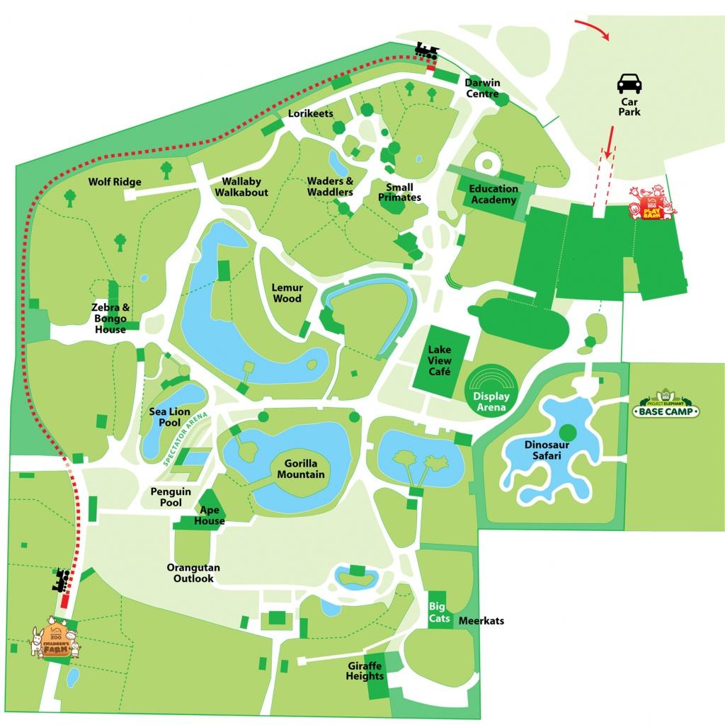 Explore Our Map   Blackpool Zoo - Blackpool Tourist Map Printable