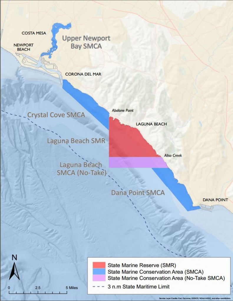 Exploring California's Marine Protected Areas: Laguna Beach State - California Marine Protected Areas Map