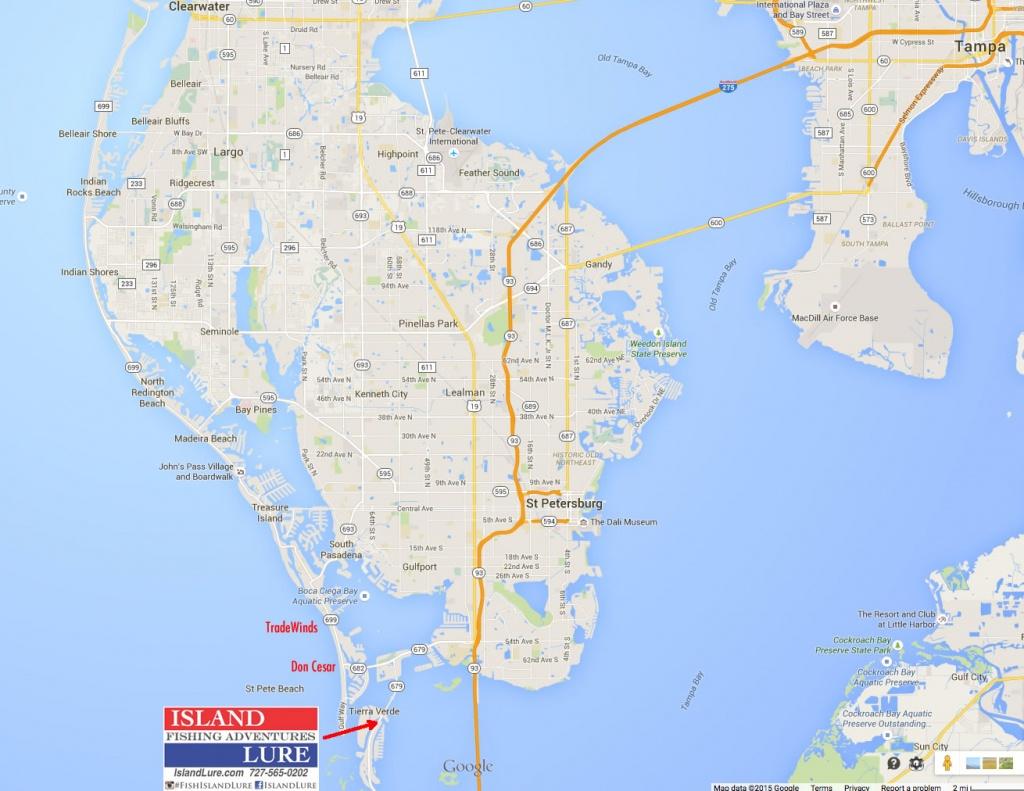 F.a.q. / Information   Fishing Charters St. Pete Beach, Tampa Bay Fl - St Pete Beach Florida Map