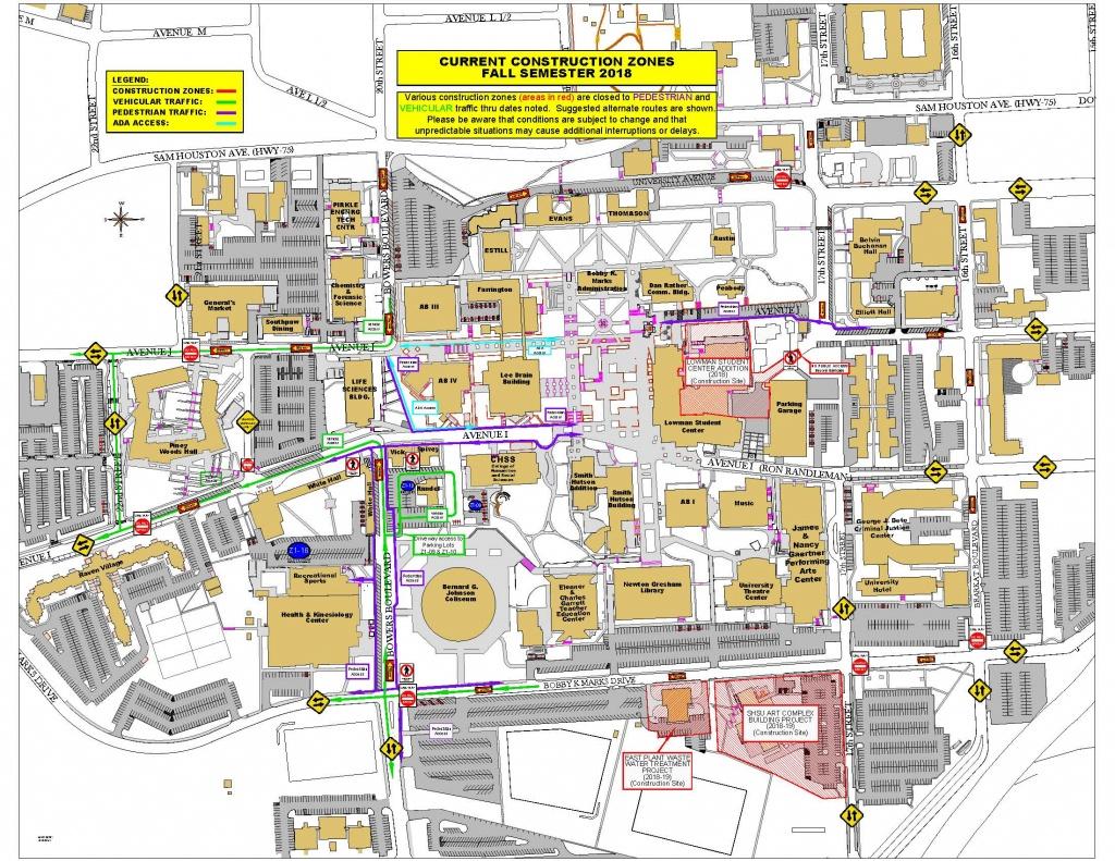 Facilities Management - Sam Houston State University - Texas State University Housing Map