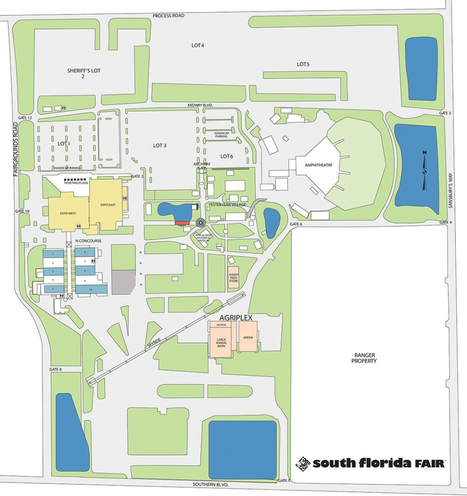 Facilities Map - Florida State Fairgrounds Map