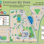 Facility Map – Vineyard Rv Park   California Rv Camping Map