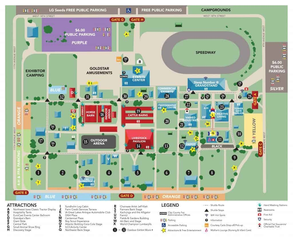 Fairgrounds Map – Clay County Fair And Events - Florida State Fairgrounds Map