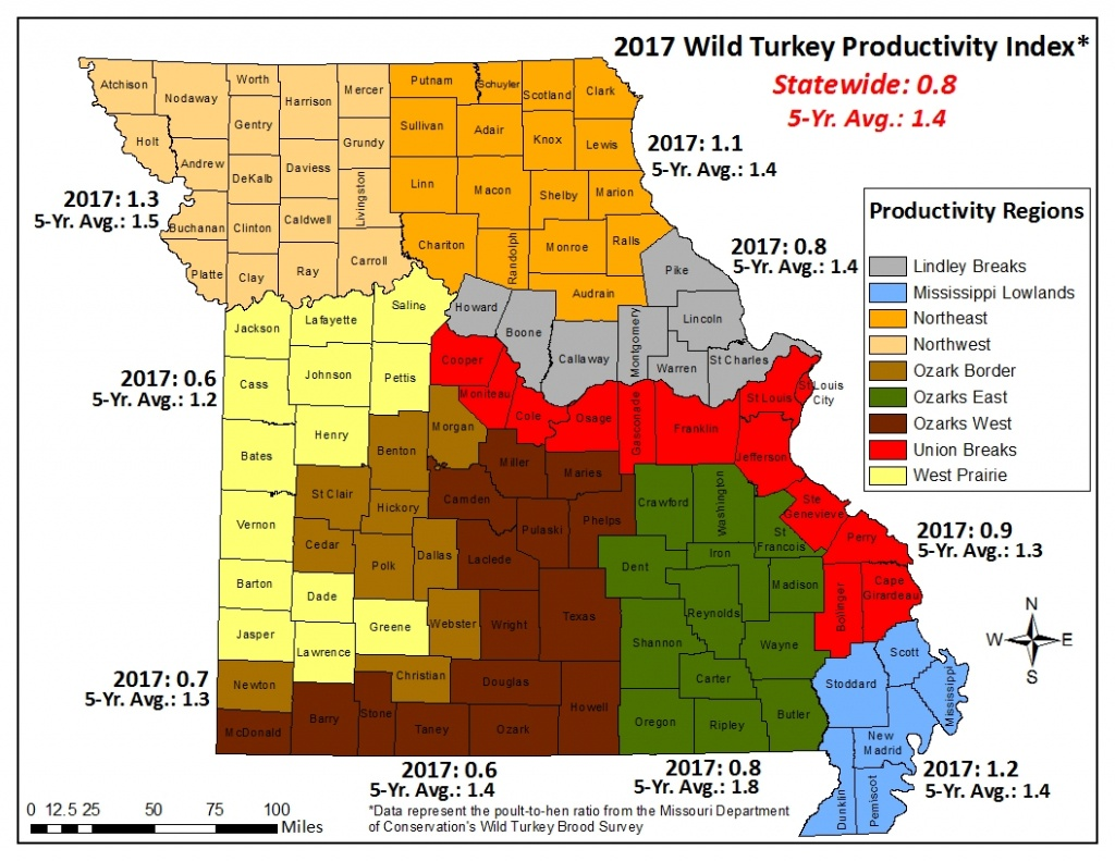 Fall Turkey Hunting Could Be Challenging This Year | Missouri - Texas Public Hunting Map Booklet