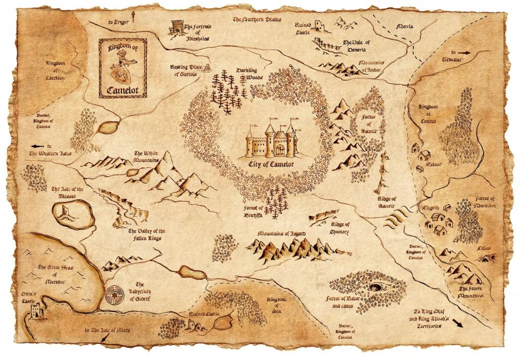Fantasy Maps   The Stranger's Bookshelf - Printable Map Of Narnia