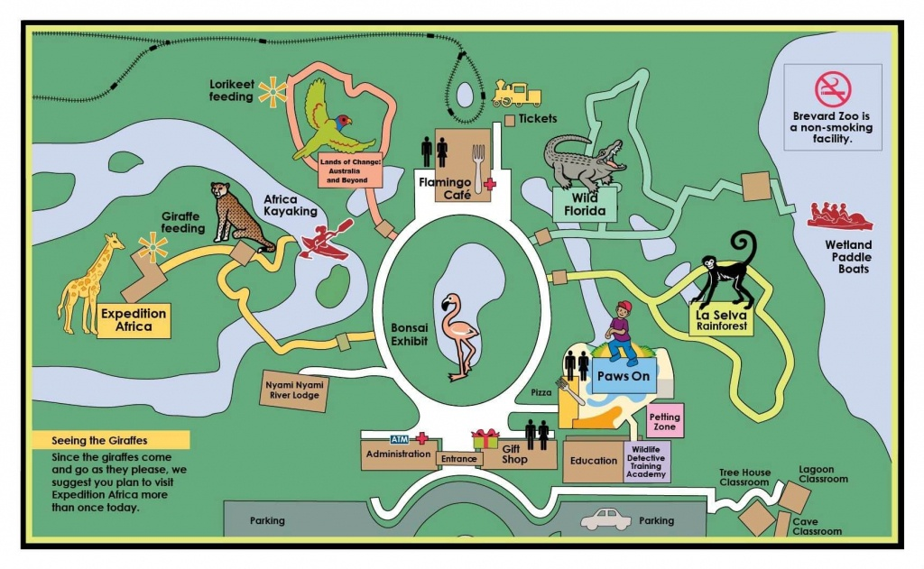 Faqs | Brevard Zoo - Central Florida Zoo Map