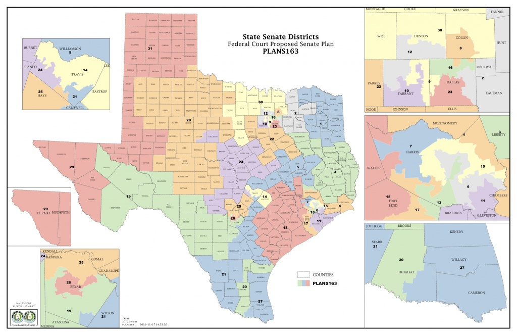 Federal Judges Propose Maps For Texas Legislative Races   The Texas - Texas State District Map