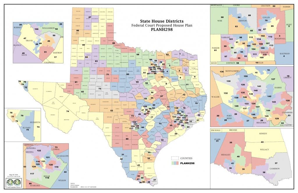 Federal Judges Propose Maps For Texas Legislative Races | The Texas - Texas Us Representative District Map