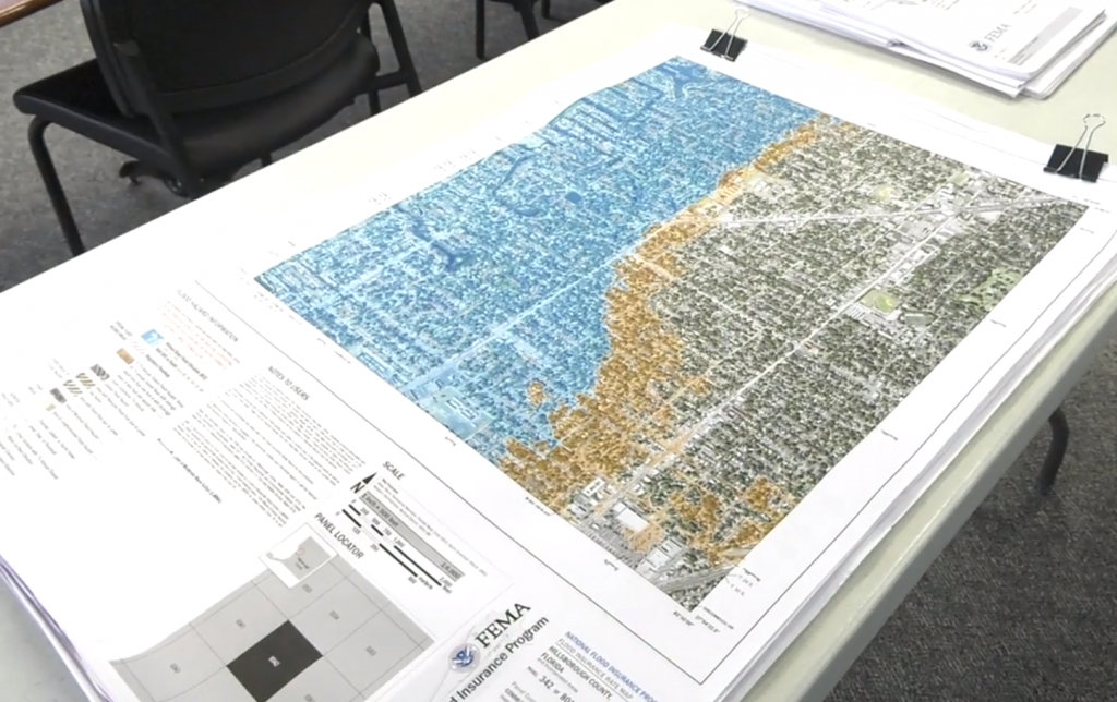 Fema Flood Maps Are Changing: What You Need To Know | Wusf News - Flood Zone Map Hillsborough County Florida