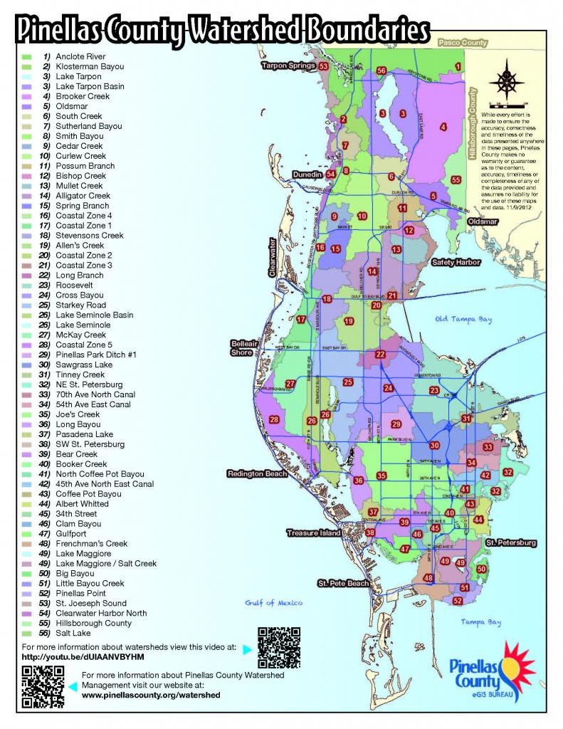 Fema Releases New Flood Hazard Maps For Pinellas County - Fema Maps Florida