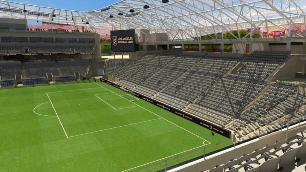 Field Views In Banc Of California Stadium - Youtube - Banc Of California Stadium Map