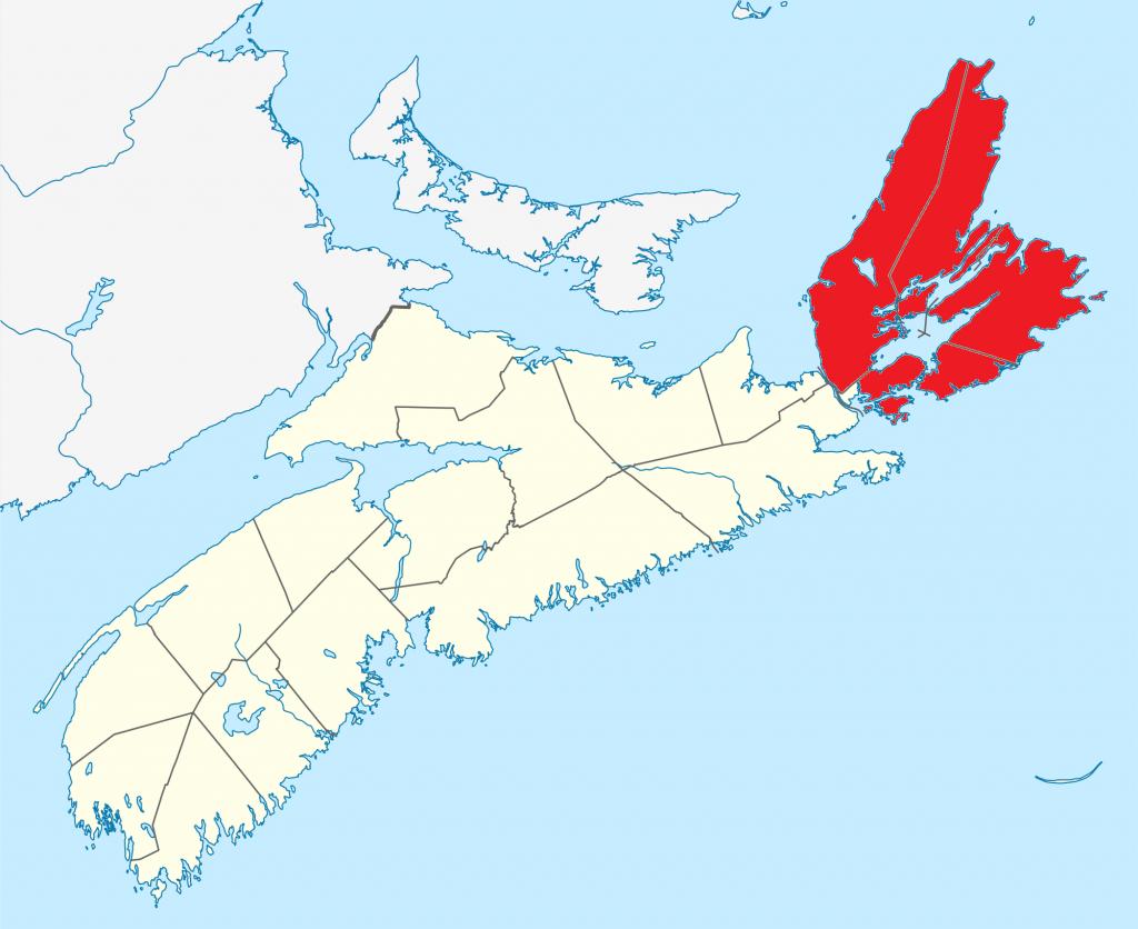 File:cape Breton Island Map - Wikipedia - Printable Map Of Cape Breton Island