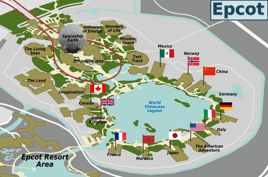 File:epcot Map - Wikimedia Commons - Epcot Florida Map