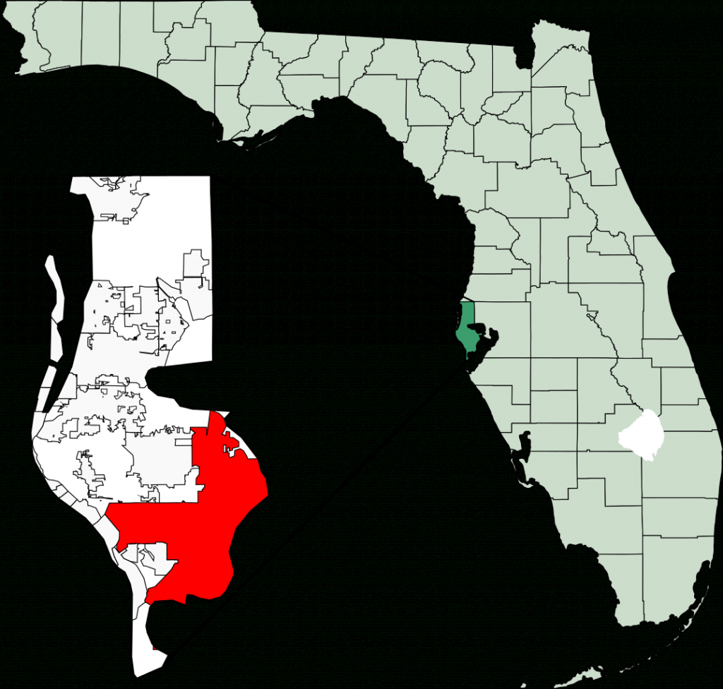 File:map Of Florida Highlighting St Petersburg.svg - Wikimedia Commons - St Petersburg Florida Map