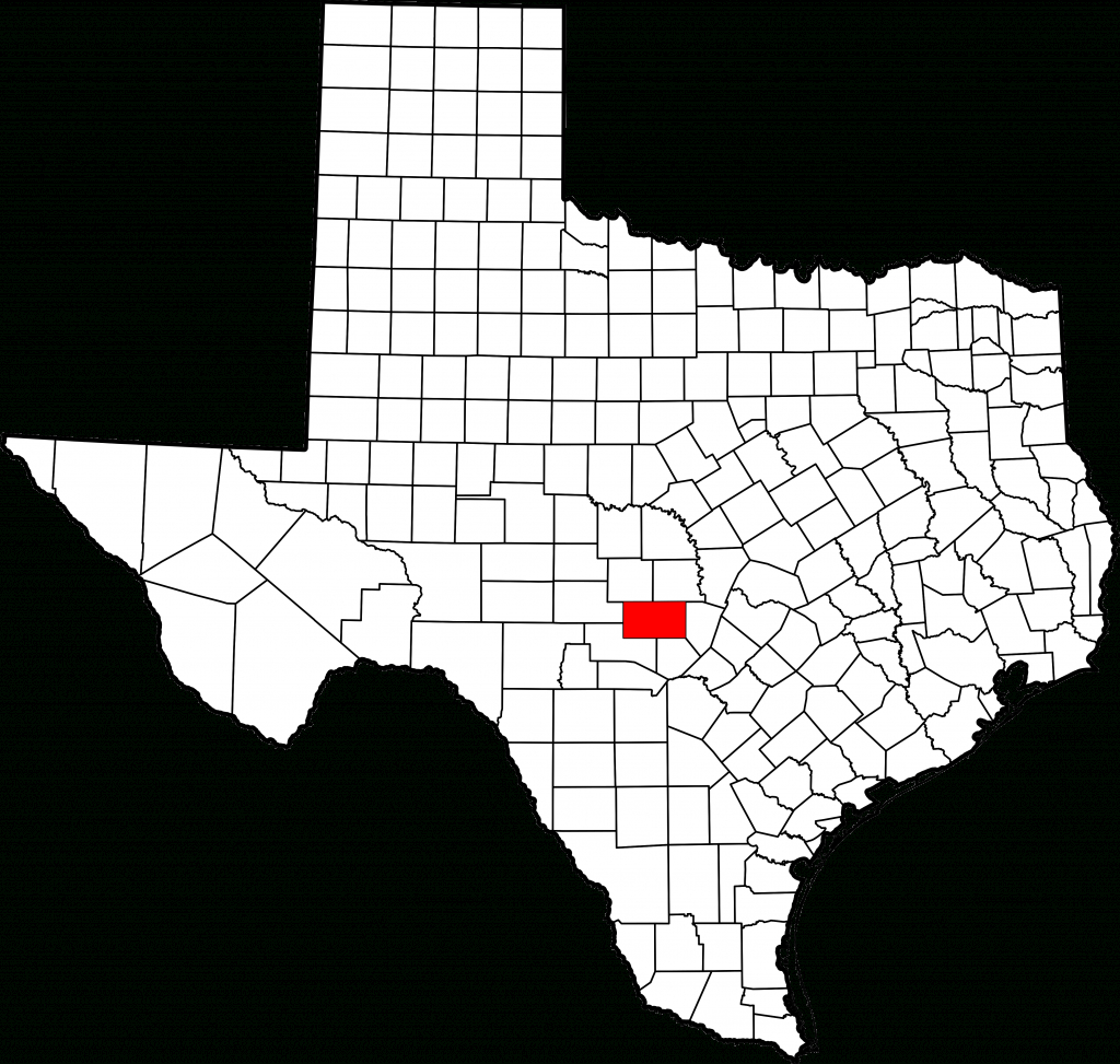 File:map Of Texas Highlighting Gillespie County.svg - Wikimedia Commons - Luckenbach Texas Map