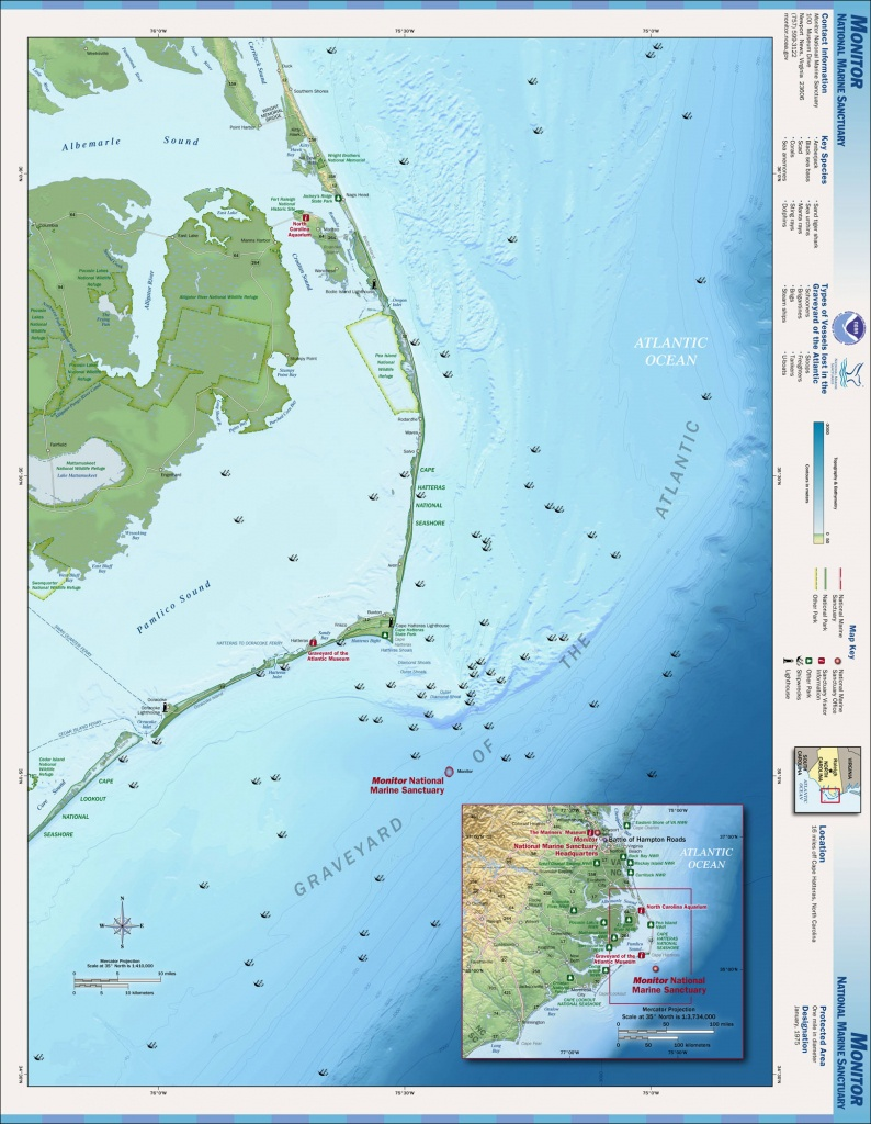 File:outer Banks Map - Wikimedia Commons - Printable Map Of Outer Banks Nc