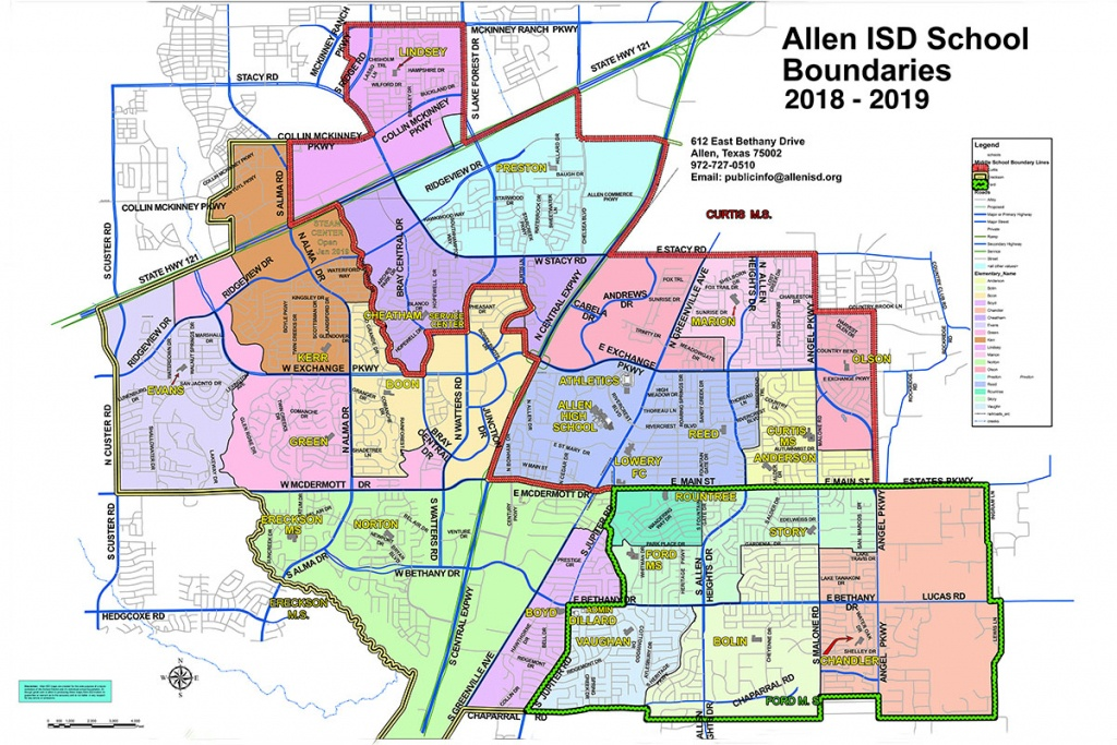 Find A School / Boundary Map - Texas School District Map By Region
