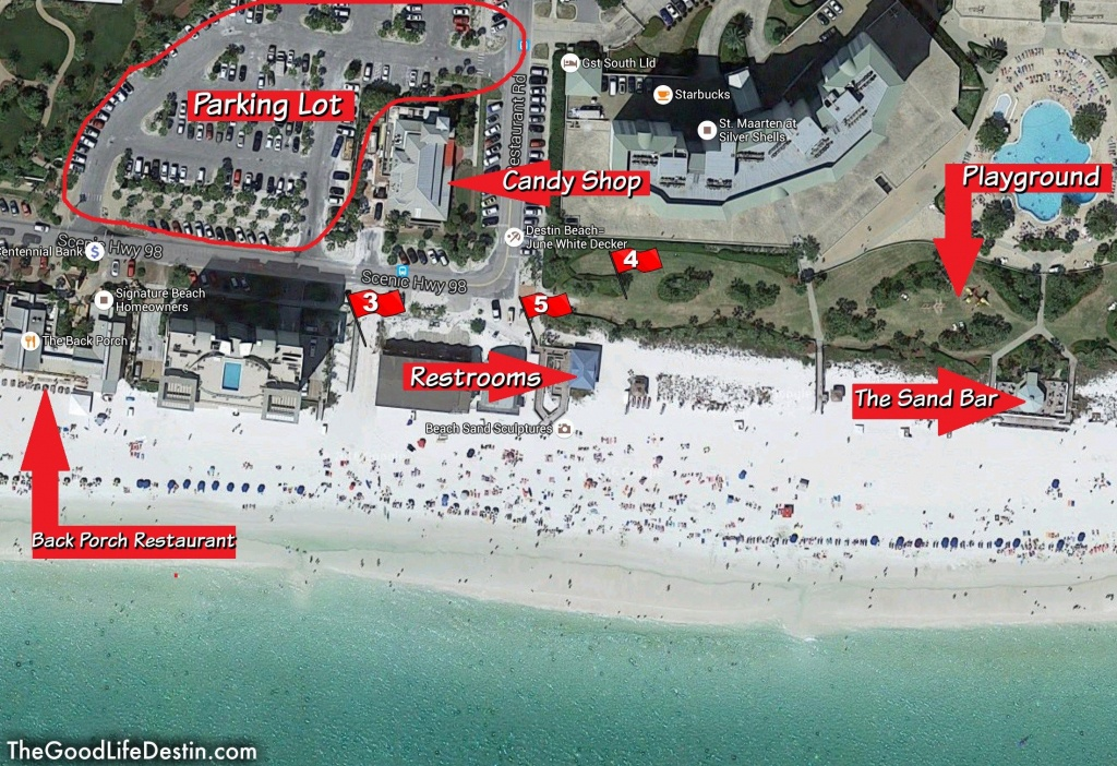 Find Your Perfect Beach In Destin Florida | Fyi | Destin Florida - Map Of Destin Florida And Surrounding Cities