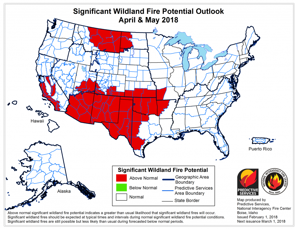Fire Weather Info Page - Current Texas Wildfires Map