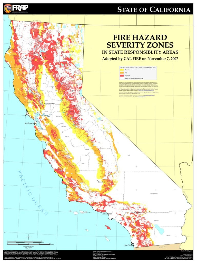 Fires | Disaster Rally - State Of California Fire Map