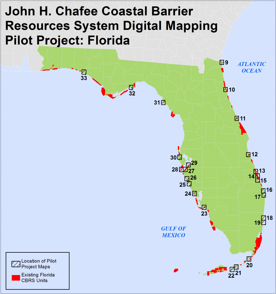 Fl Final Recommended Maps And Digital Boundaries - Florida Ocean Map
