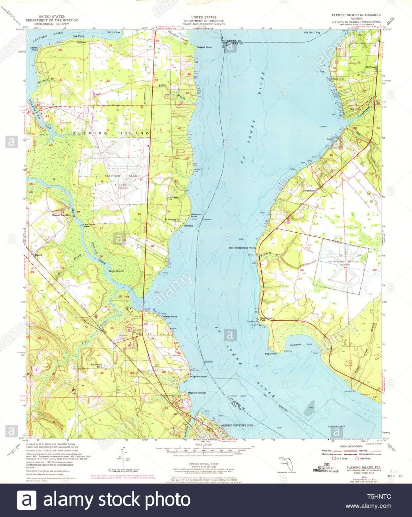 Fleming Island Stock Photos & Fleming Island Stock Images - Alamy - Fleming Island Florida Map
