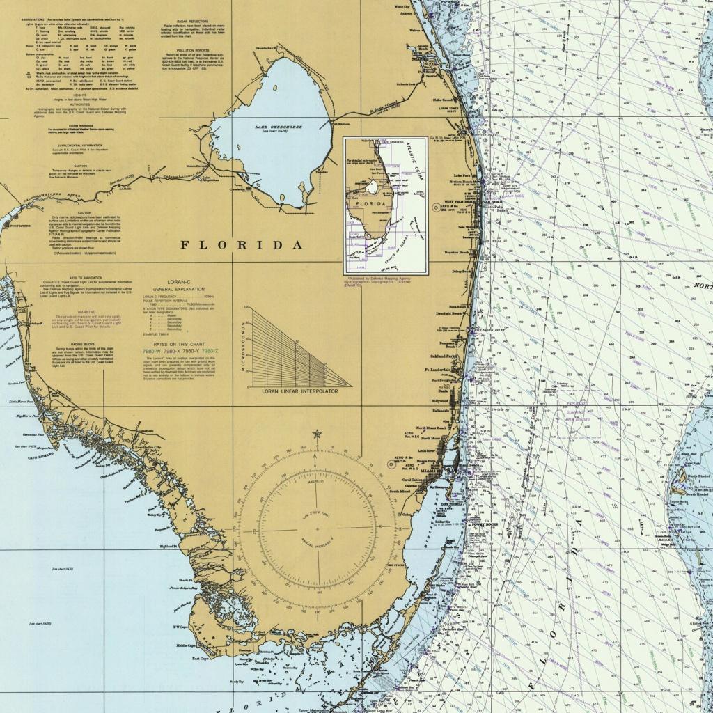 Florida Atlantic Coast Map (1982) Duvet Coverbravuramedia   Society6 - Florida Atlantic Coast Map