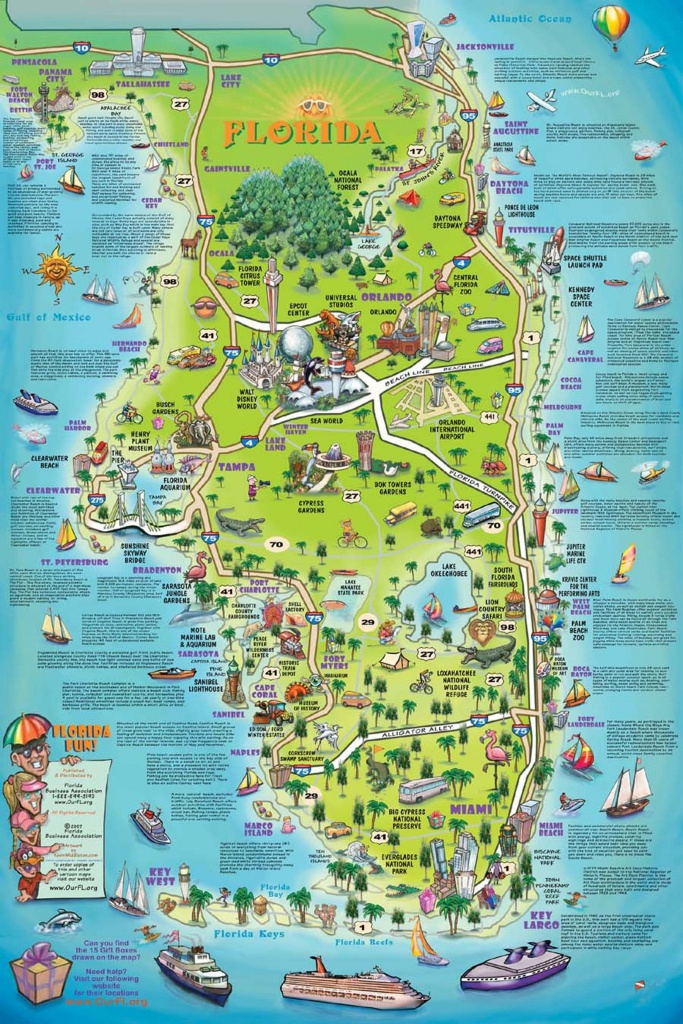 Florida Attraction Map - Google Search | Bucket List!!! | Map - Google Florida Map
