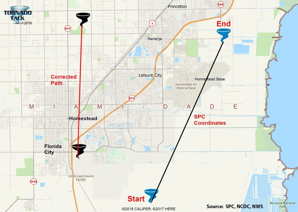 Florida City-Homestead, Fl F2 Tornado – December 20, 1973 – Tornado Talk - Homestead Florida Map