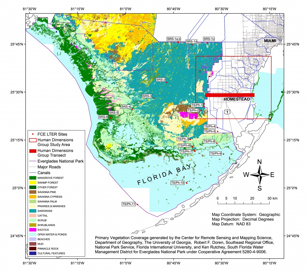 Florida Coastal Everglades Lter - Gis Data And Maps - Florida Parcel Maps