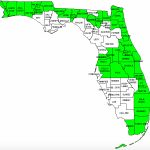 Florida Counties Visited (With Map, Highpoint, Capitol And Facts)   Yeehaw Junction Florida Map