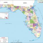 Florida County Map, Florida Counties, Counties In Florida   Google Maps Florida Panhandle