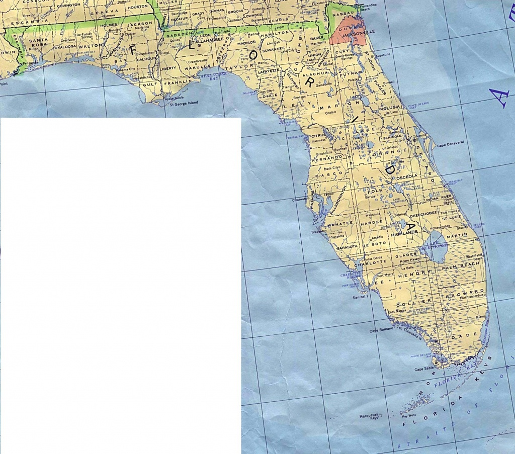 Florida Elevation Map - Florida Elevation Map Free