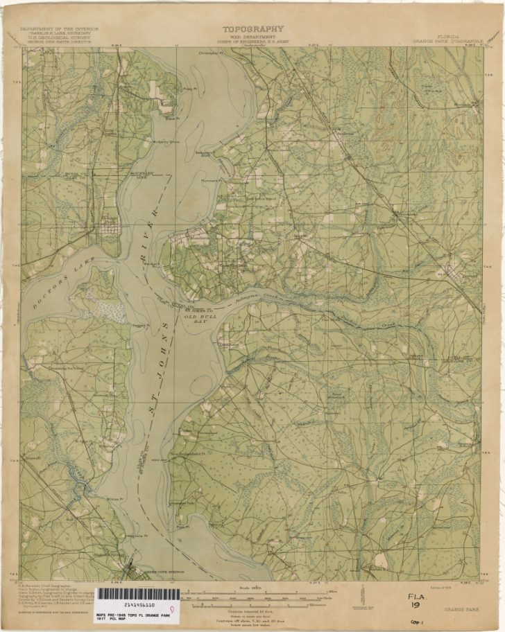 Old Maps Of Jacksonville Florida