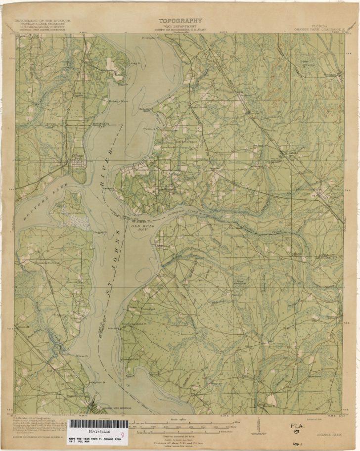 Old Maps Of Jacksonville Florida