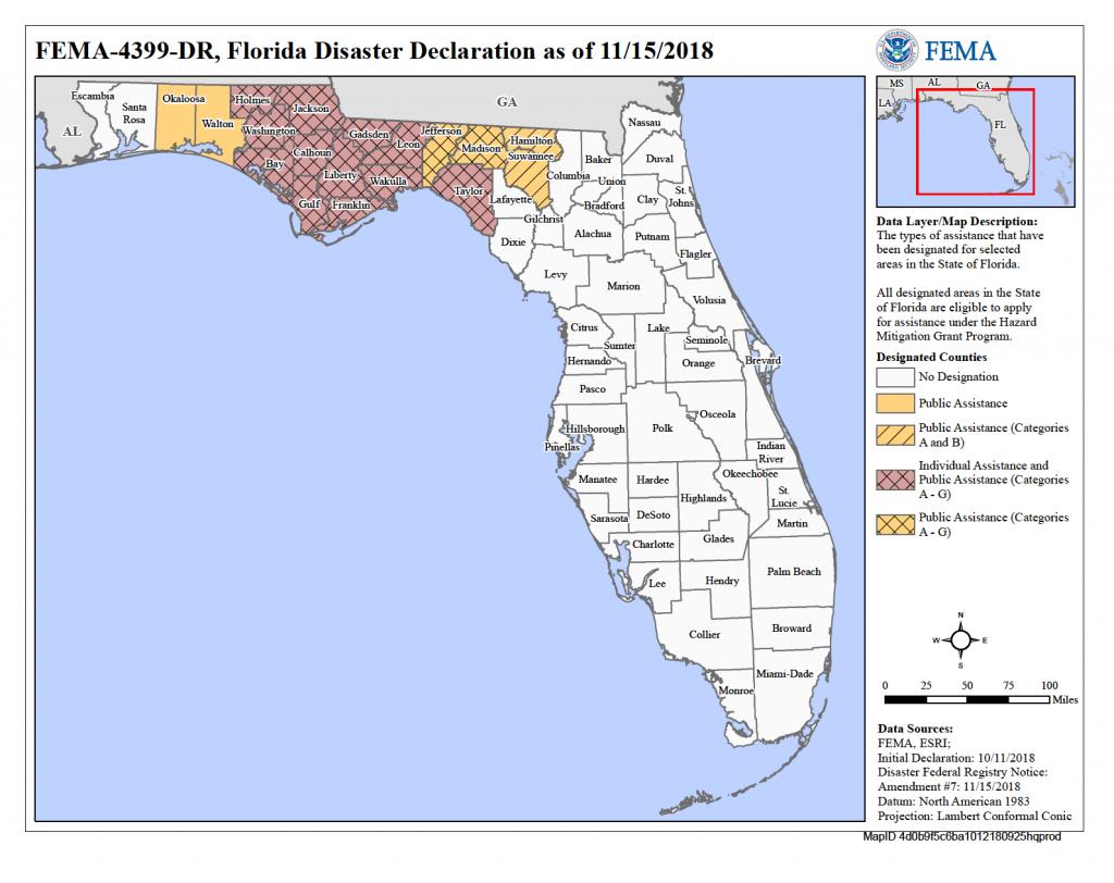 Florida Hurricane Michael (Dr-4399) | Fema.gov - Fema Flood Maps Charlotte County Florida