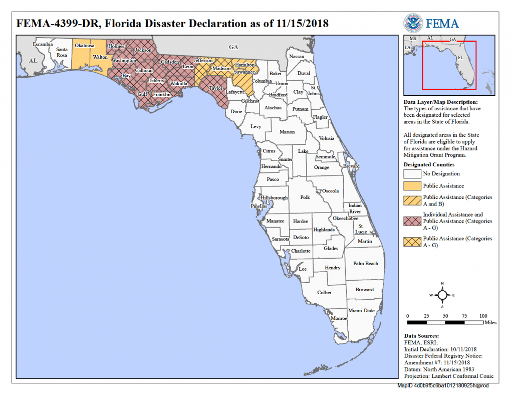 Florida Hurricane Michael (Dr-4399) | Fema.gov - Gulf County Florida Flood Zone Map