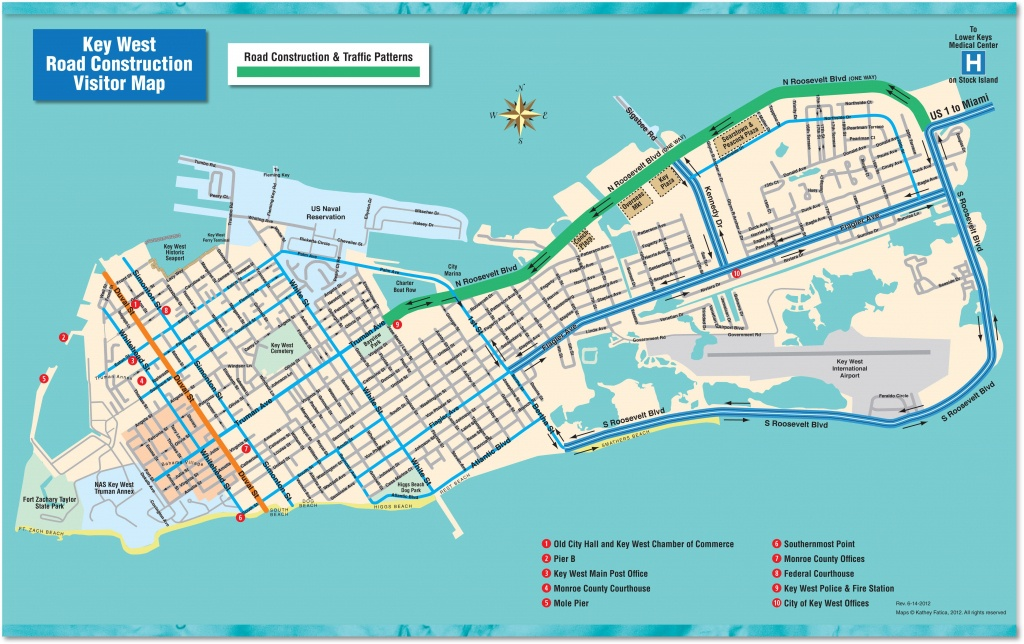 Florida Keys Travel Info & Maps For A Possible Upcoming Road Trip - Map Of Hotels In Key West Florida