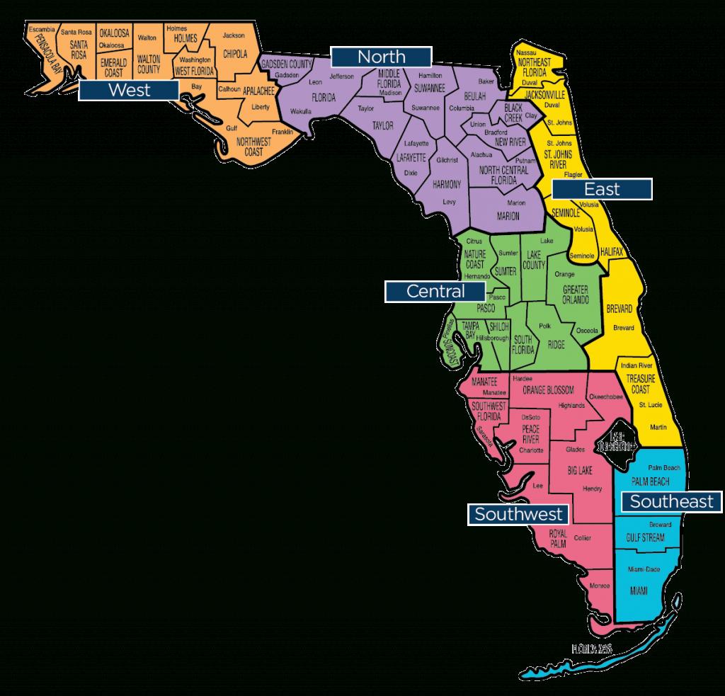 Florida Map - Florida Baptist Convention   Fbc - Map Of Lake City Florida And Surrounding Area