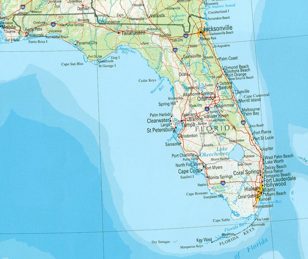 Florida Maps - Perry-Castañeda Map Collection - Ut Library Online - Map Of Florida