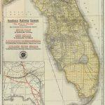Florida Memory   Map Of Florida, Ca. 1922   St Leo Florida Map