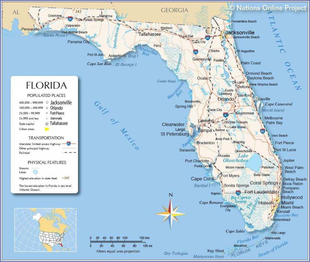 Florida - Miami, Fort Lauderdale, Hollywood, Islamorada, Orlando - Orlando Florida Map