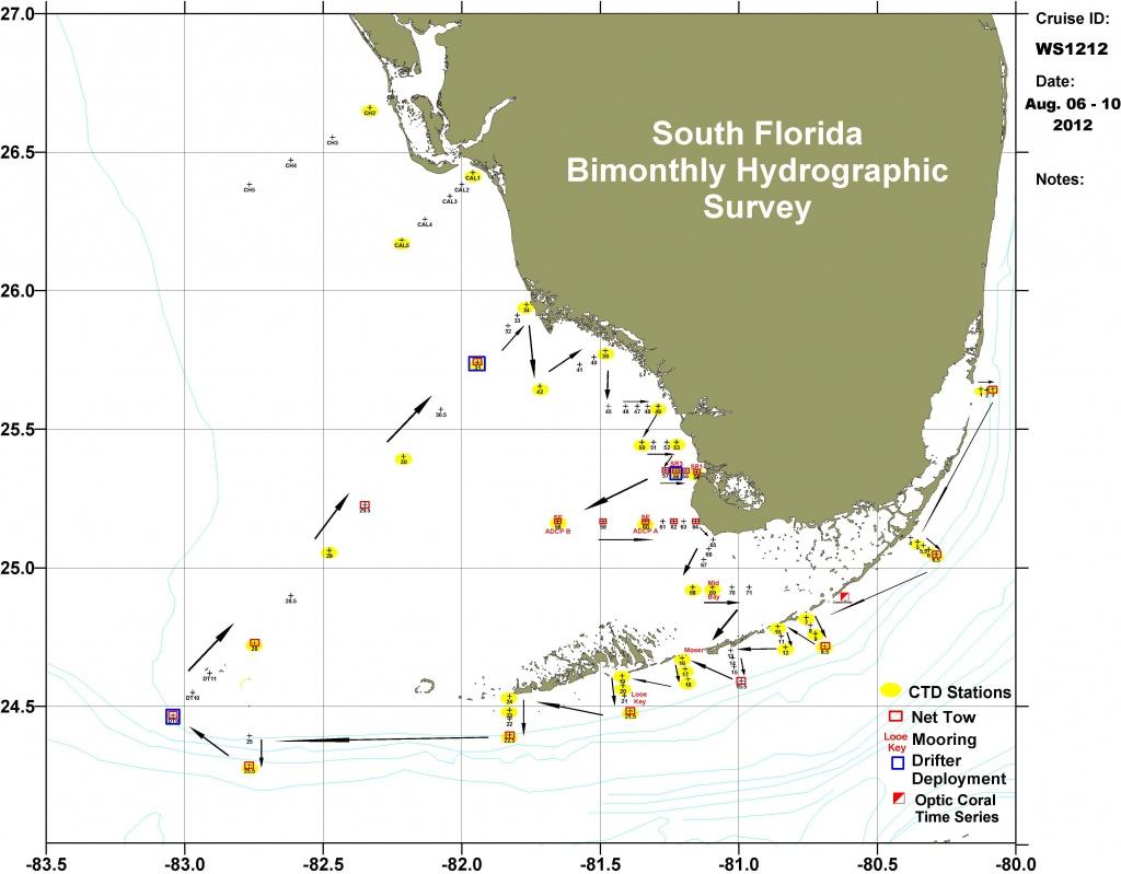 Florida Ocean Depth Chart | Vinylskivoritusental.se - Ocean Depth Map Florida